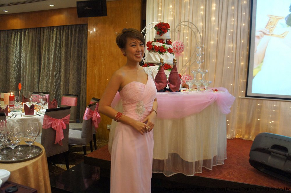 Professional emcee for Chinese Wedding Reception