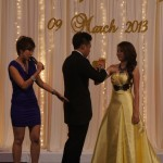 Professional wedding emcee Jocelyn Lim