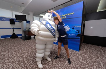 Michelin Pilot Experience Emcee