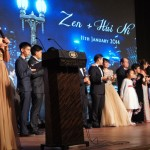 Emcee the wedding reception for Zen & Hui Ni