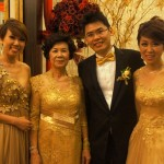 Being the wedding emcee for Tjun Hoong & Linda